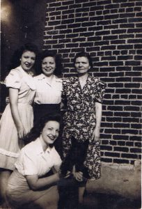 Dorothy Apicella with her mother Angela, her sisters Edith & Gloria